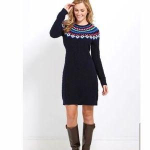Vineyard Vines Fair isle Sweater Dress